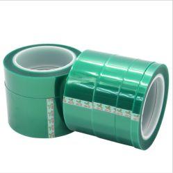 Grünes Polyester-Haustier-Film-Silikon-Klebstreifen für Wärmeschutz
