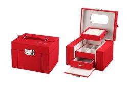 高品質によってカスタマイズされる木の宝石類のパッケージボックス