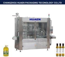 Macchina di rifornimento automatica del liquido viscoso per l'olio di oliva in bottiglia plastica di Cbd del riempitore del liquido viscoso