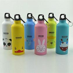 La promotion du sport bouteille d'eau en aluminium de gros de la sublimation de l'aluminium bouteille l'eau potable
