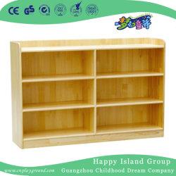 Escola simples sessão de brinquedos de madeira Armário de armazenamento (HJ-4108)