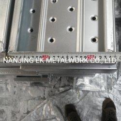 Schede di alluminio della camminata per la plancia dell'acciaio della piattaforma del metallo Pre-Galvanizzata armatura