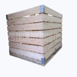 Caixa de madeira do colar de paletes Caixa Nailess Caixa dobrável (WP-007)