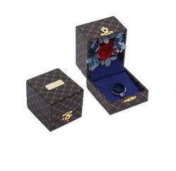 ValentineのDayのためのカスタムRomanticローズFlower Jewelry Gift Box