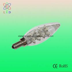 LED innovante C32 Bougie, de l'ampoule LED E12/E17 Lampe LED candélabre, C32 Lustre lampe unique
