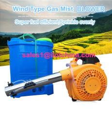 Ilot ventilador portátil multifuncional, Tipo de vento de insuflação de ar de névoa de gás