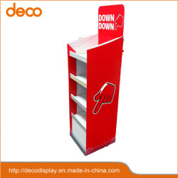 Le papier Support d'affichage Point d'achat de carton Rack d'affichage