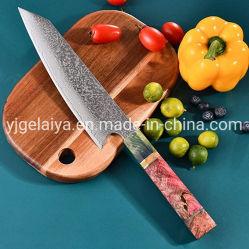 Singular Vg10 de 67 profesionales de las capas de acero de Damasco chefs japoneses Cuchillo de cocinero cuchillo de cocina