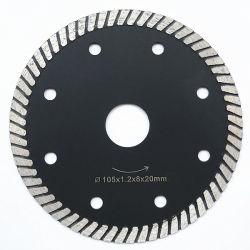 Segment Superthin Diamond Turbo la lame de scie de coupe carreaux en porcelaine