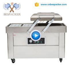 Vakuumabdichtmassen-Doppelt-Dichtungs-Nahrungsmittelvakuumabdichtmassen-Maschine