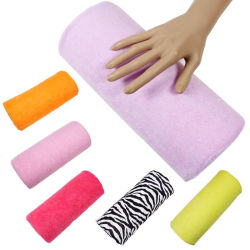 매니큐어 장비 나머지를 위한 분리가능한 빨 수 있는 손 방석 베개