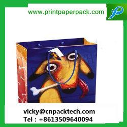 Haute qualité sac de papier de luxe promotionnelle personnalisée Fashion sac à main
