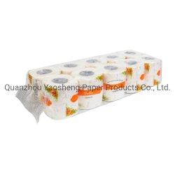 2Virgem ply Pasta de Papel higiénico Toalha de tecido