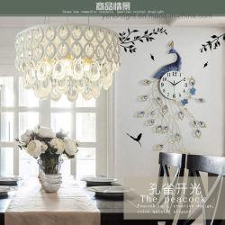 Lampe LED moderne lustre en cristal Pendentif Cristal Pendentif lampe de feu