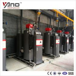 Super basse température des gaz d'échappement 70 degré 250kg/h chaudière à vapeur de gaz à condensation