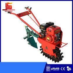 Kleiner Benzin-/Diesel-Energien-Ackerbau-Maschinen-Ketten-Spur-Minidrehpflüger-kleiner Garten-Hilfsmittel-Landwirt