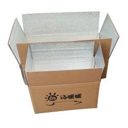 O logotipo personalizado reciclado impressas de Papelão Ondulado folha de alumínio vários tamanhos 1-9 Dom Papel Embalagem embalagem caixa de papelão caixa de isopor