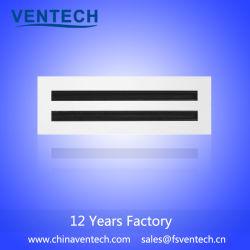 HVAC 알루미늄 선형 슬롯 유포자 공기 석쇠