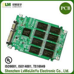 256 g взаимосвязи печатных плат на жестком диске обслуживающего компьютера для поверхностного монтажа системной платы