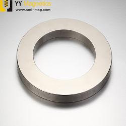 希土類N52大きいリングのNdFeBの極度の強力なカスタム磁石