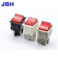 Noir et blanc 250V 16A 20A T85 Interrupteur à bascule de la Chine fournisseur