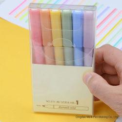 Highlighter libero dell'inchiostro 870 con 18 colori banco e stile della pompa degli articoli per ufficio