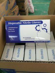 La polvere medica del vinile dei guanti a gettare En455 dei materiali del nitrile di alta qualità di approvazione del Ce libera i guanti