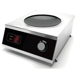 fornello commerciale del Wok di induzione di uso durevole Choice facile 5000W indipendente