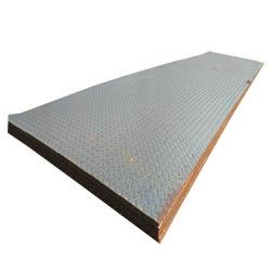 A36 S235jr Stahlblech-Gleitschutzfußboden-Stahlplatte der Frau-Checkered
