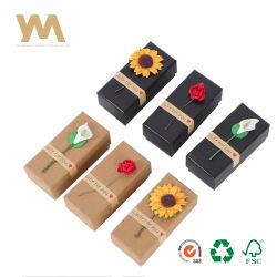 Personnalisé Papier ivoire coloré 350g Parfum cosmétique Emballage cadeau