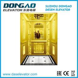 Golden Mirror Etching ステンレススチール、助手席エレベーター用