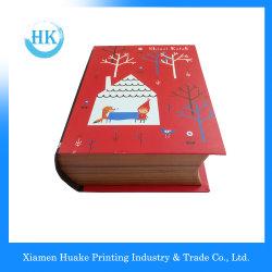صنع وفقا لطلب الزّبون صندوق هبة عيد ميلاد المسيح [هلّووين] مغنطيسيّة أحمر سنة جديدة صندوق رجل ثلج