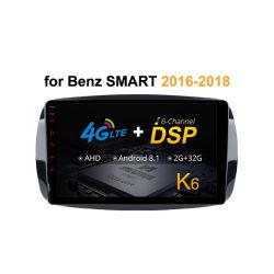 für Benz intelligentes 2016 - 2018 Auto DVD GPS des Screen-1024*600 64GB