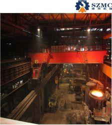5t 10t 16t 20t 32t 50tt 13.5~31 74t, 5m Meilleure vente double poutre de la métallurgie de coulée avec le crochet de grue de frais généraux utilisés dans l'usine d'acier