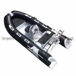 セリウムの中国390 PVC膨脹可能なガラス繊維の堅い肋骨のボート