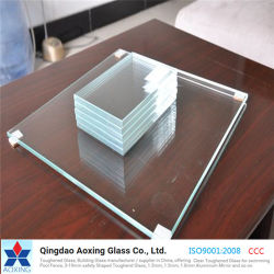 Fabricado en China 3-19mm Super White/Super/transparente cristal de efecto invernadero