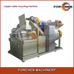 Industriële elektrische energie Automatische schroot-koperkabel Recycling machine