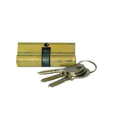 ヨーロッパのプロフィールの真鍮の合鍵シリンダーロックボディシリンダードアロック