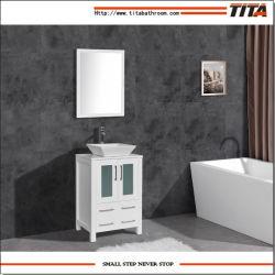 Moderno lavabo de cerámica de montaje por encima de muebles de baño T9158