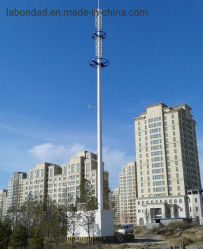 Monopole 탑 원거리 통신 고품질 단 하나 관 탑