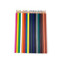Novo design de alta qualidade 7'' Conduzir Lápis coloridos de plástico com formato de flores