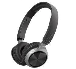 Il nero sulla cuffia del trasduttore auricolare del telefono mobile dell'orecchio con la cuffia avricolare di gioco di colloquio del Mic per la cuffia di musica del MP3 MP4 del calcolatore con Ce ed il certificato di RoHS