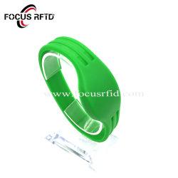 Matières premières Cuotom qualité ultime de paiement NFC Wristand bracelet RFID de silicium