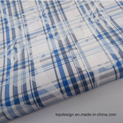 Het Af:drukken van het pigment op de Katoenen Geverfte Stof van het Garen voor Overhemden