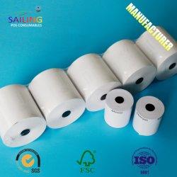 57x70mm/57x50mm/57x40mm Rouleau de papier thermique pour Machine POS