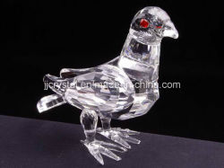 중국에 있는 Table Decoration를 위한 수정같은 Glass Animal Birds