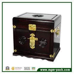 صناديق المجوهرات الخشبية عالية الجودة على الطراز المتعاقد عليه