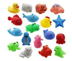 Custom PVC Flutuante Bathl brinquedos por grosso de brinquedos para crianças Banheira de bebé Amarelo Brinquedos de pato