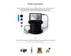 20 m video-inspectiecamera, waterbestendige viscamera-videorecorder
