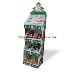Foldable 골판지 진열대 종이 진열대 물결 모양 진열대 최신 판매